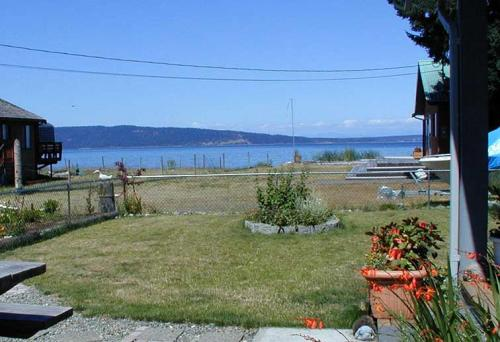 Back Yard with view of Hornby and Denman Islands